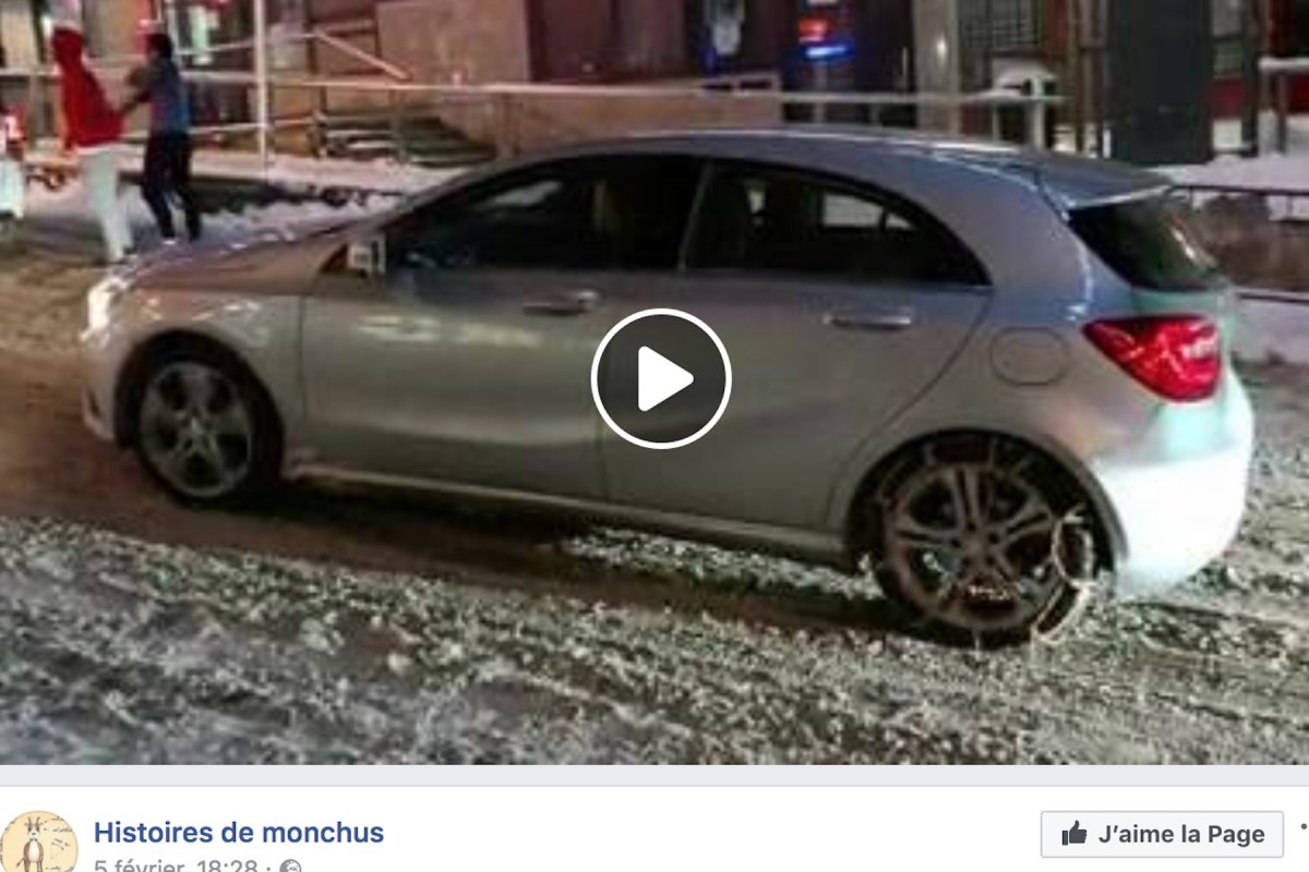 Chaine neige mercedes classe a