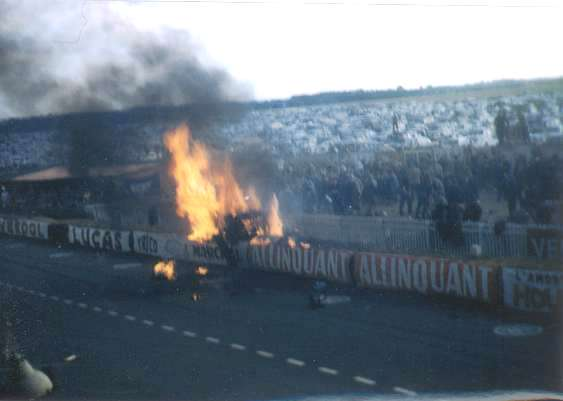 Accident mercedes 24h du mans 1955