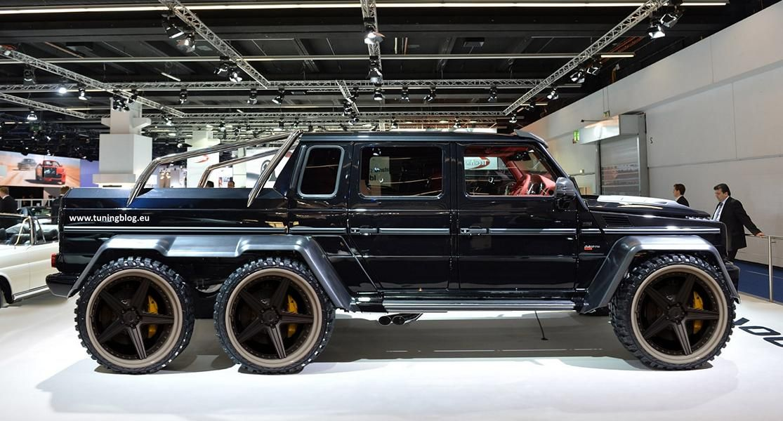 4x4 mercedes amg 6 roues