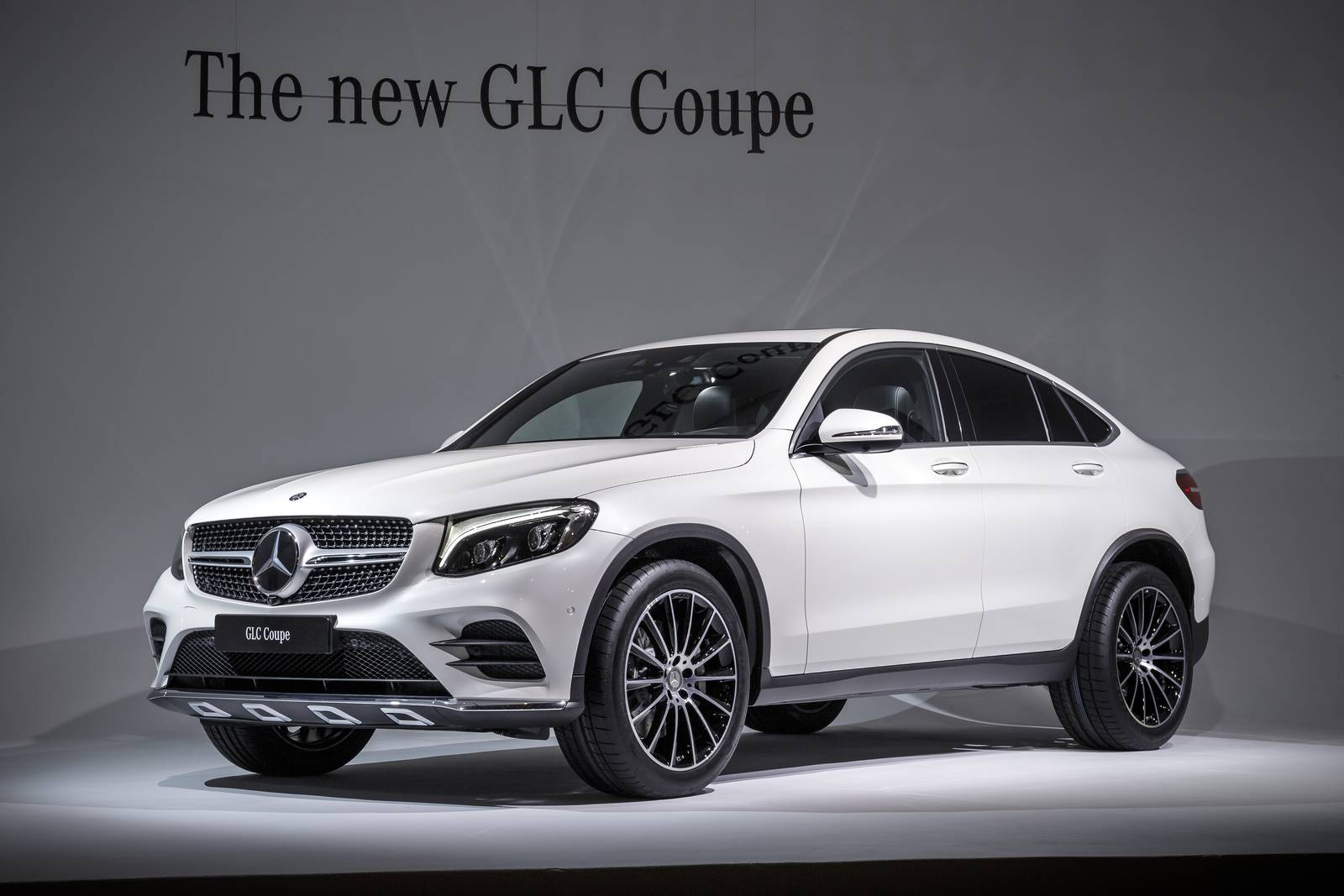 Dimensions mercedes glc coupe