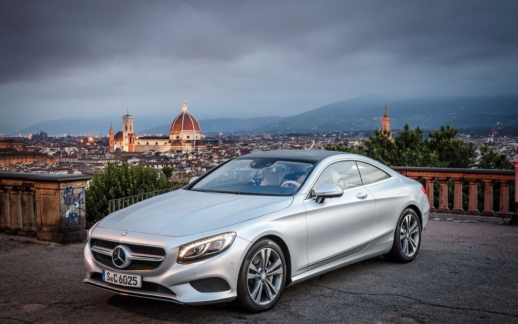 Mercedes benz classe s coupe