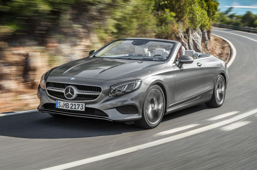 Mercedes cabriolet classe s