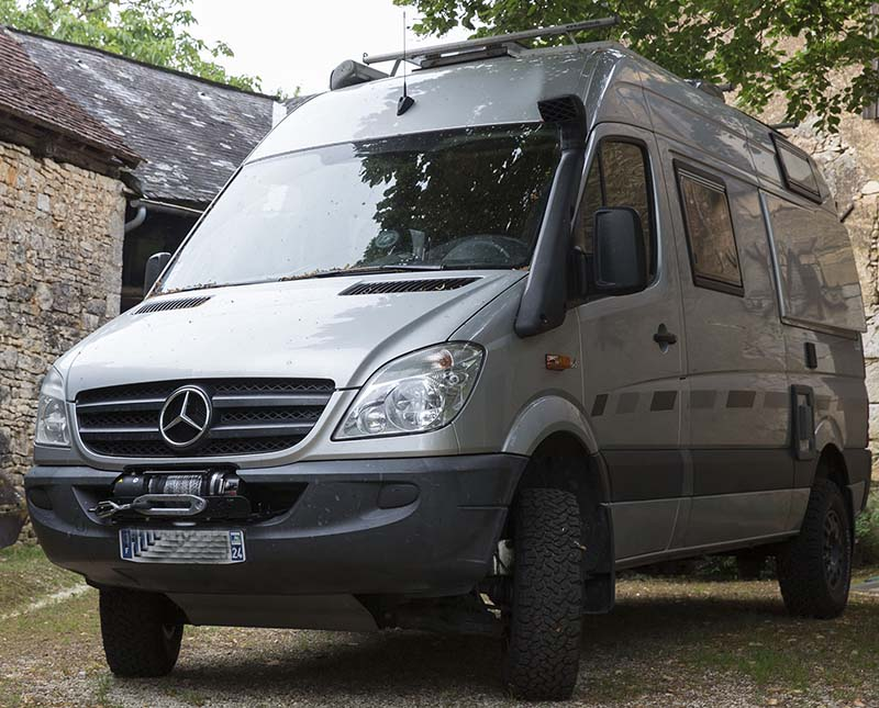 Mercedes fourgon 4x4