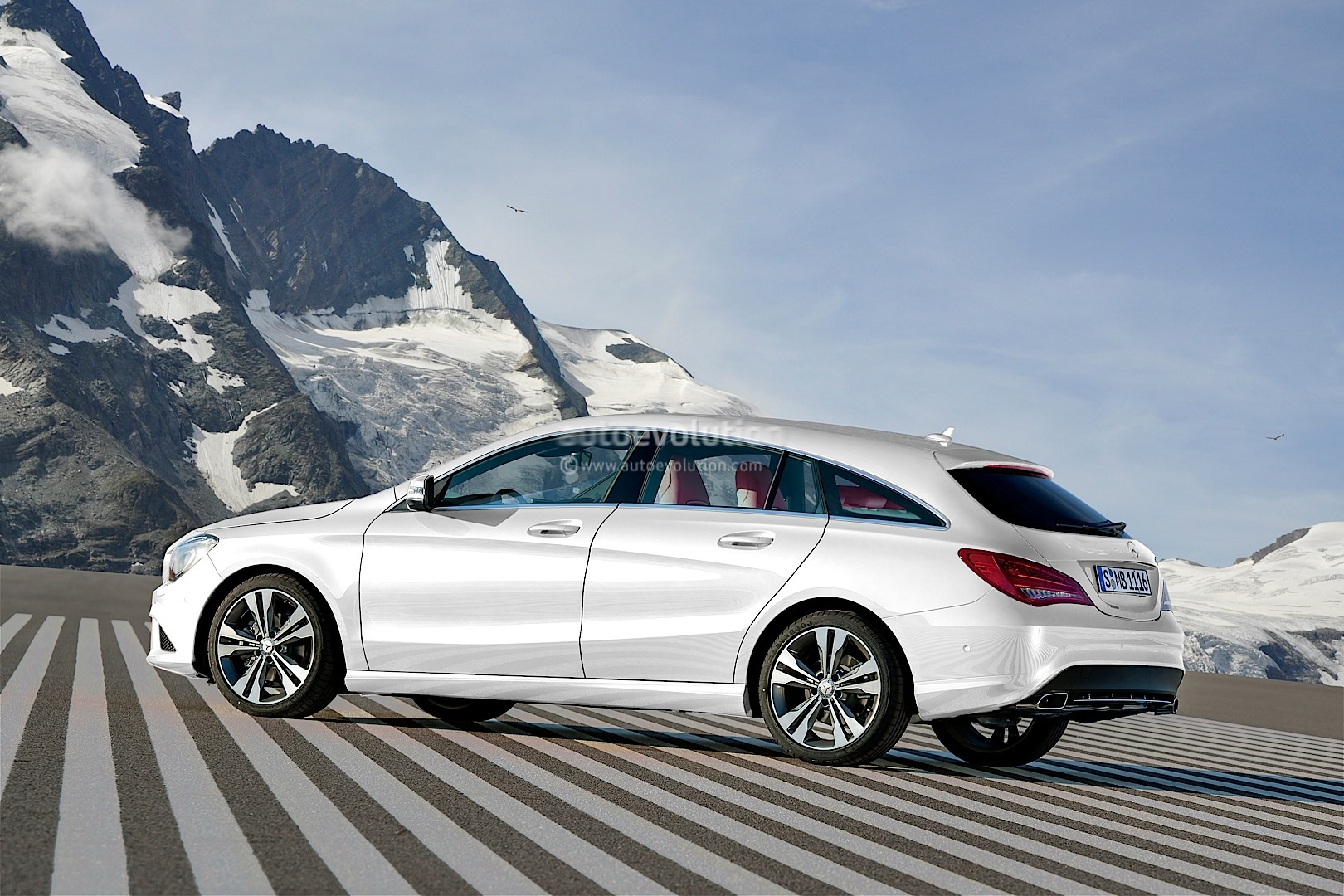 Mercedes c shooting brake