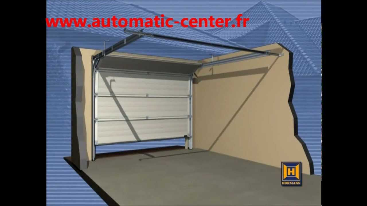 Reglage porte de garage sectionnelle hormann